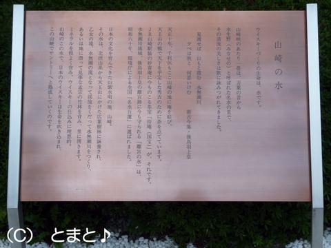 山崎の水について