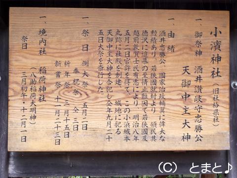 小浜神社について