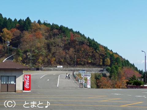 比叡山ドライブウェイ 山頂駐車場