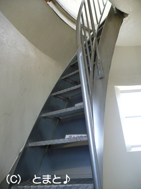 野島埼灯台の階段