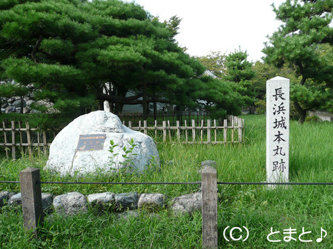 長浜城本丸跡